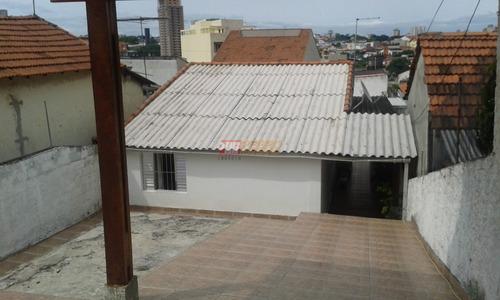 Casa Terrea No Bairro Vila Goncalves Em Sao Bernardo Do Campo Com 02 Dormitorios - V-25569