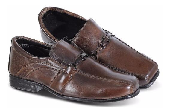 Sapato Infantil Social Couro Legítimo Seu Filho Merece