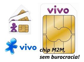 Chip P/ Rastreador+plataforma Para Gt 02