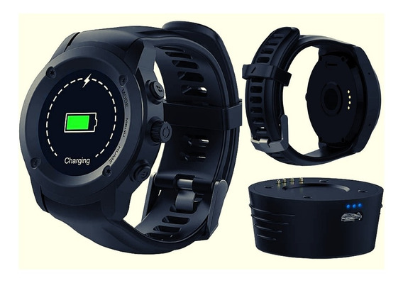 Relógio Smartwatch Bluetooth Gps Touch Ios Android P9080