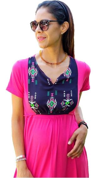 Vestido De Lactancia Y Embarazo Ropa Maternidad-jazmin