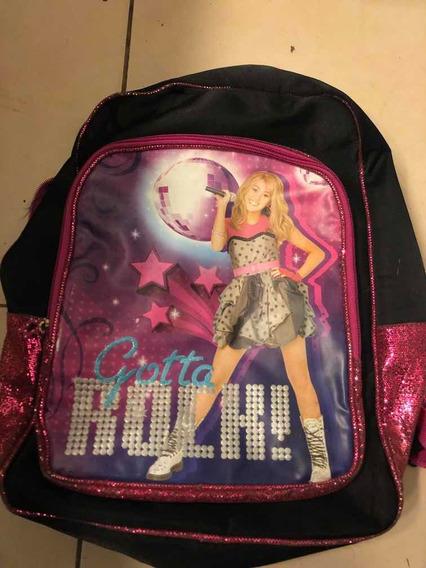 Mochila De Hannah Montana Usada (153)
