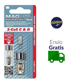 Repuesto Para Lampara Maglite 3-cell C&d 500381 Envio Gratis