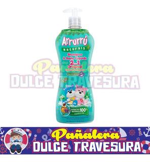 Shampoo Y Baño Liquido Arrurru X800 Orig - L a $27