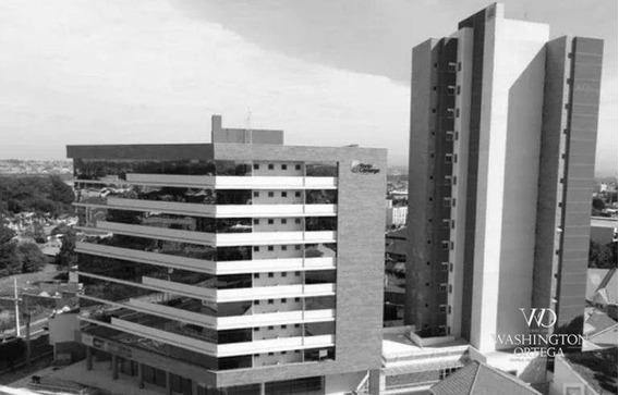 Apartamento Mobiliado Com 1 Dormitório À Venda, 33 M² Por R$ 249.900 - Centro - São José Dos Pinhais/pr - Ap0561