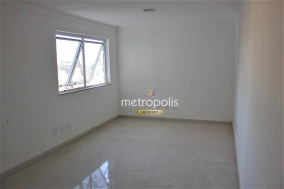 Sala Para Alugar, 25 M² Por R$ 1.100,00/mês - Nova Gerti - São Caetano Do Sul/sp - Sa0438