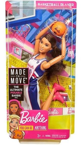 Barbie Esportista Jogadora De Basquete Dvf68 - Mattel
