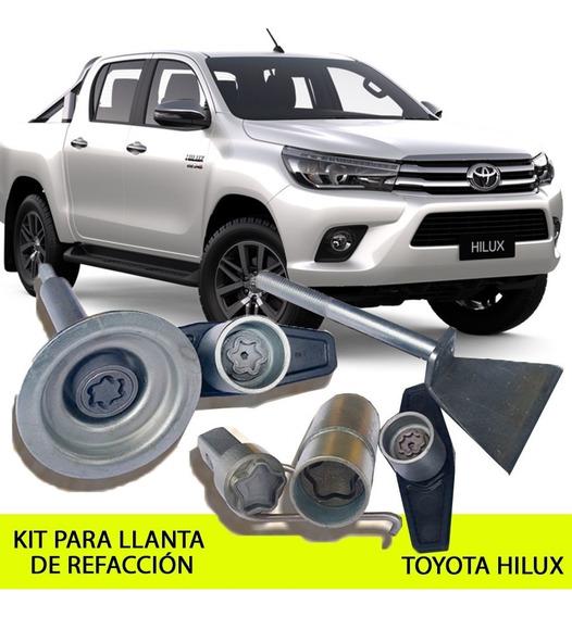 Kit Seguridad Llanta De Refacción Toyota Hilux - 2012 En Ade