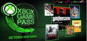 Game Pass 14 Dias Xbox One - 100% Original (25 Dígitos)