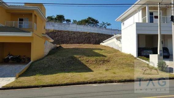 Terreno À Venda Com 403 Metros Quadrados No Condomínio Residencial Portal Do Jequitibá Em Valinhos - Sp. - Te0139