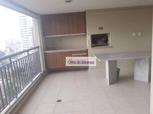 Apartamento Com 3 Dormitórios À Venda, 178 M² Por R$ 2.400.000,00 - Vila Mariana - São Paulo/sp - Ap4333