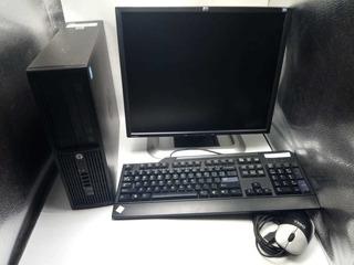 Computador De Escritorio Hp Cpu Monitor Teclado Mouse Cable