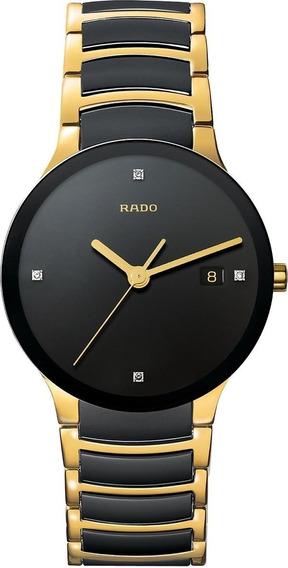 Reloj Rado Centrix R30929712 Jubilé Cerámica Dorado/negro
