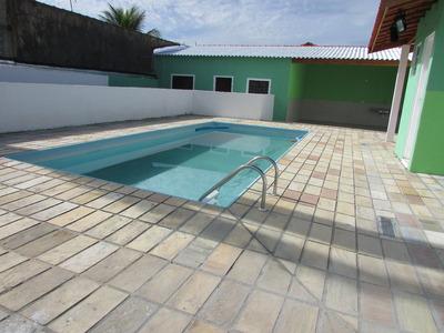 454- Ótima Casa Com Piscina, 259m² No Bairro Cibratel A 700