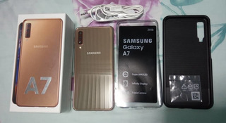 Samsung A7 2018 Como Nuevo