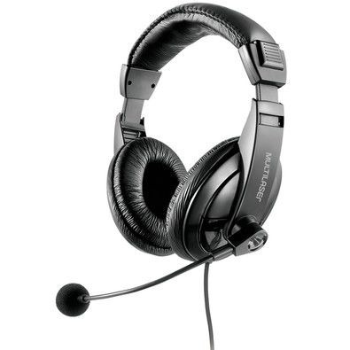 Headset Multilaser Usb Giant Preto - Ph245