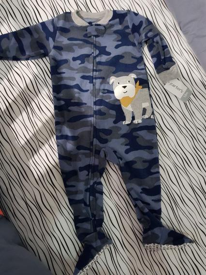 Pijama Carters 12 Meses Niño Super Abrigada Ropa Bebe