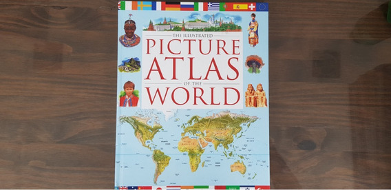 Livro: The Illustrated Picture Atlas Of The World