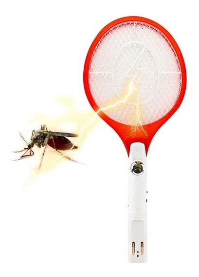 Raquete Elétrica Mata Mosquito Dengue Pernilongos
