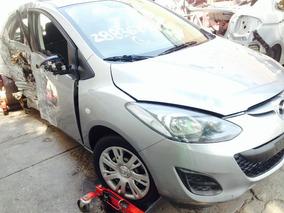 Mazda 2 Chocado Motor Partes Refacciones Autopartes Piezas
