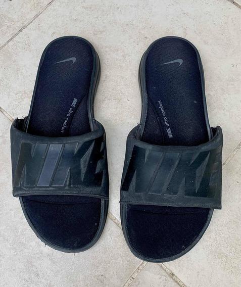 Ojotas Nike Importadas Nuevas Color Negro