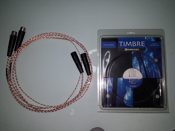 Cabo Kimber Kable Timbre Xlr 2.0m