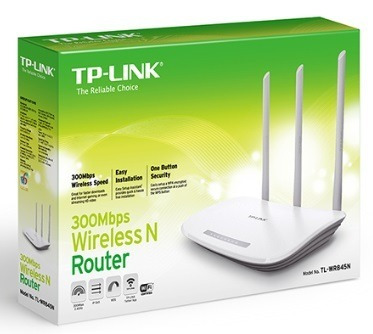 Router Tp-link Tl-wr845n (3 Antenas 5dbi) (35green)