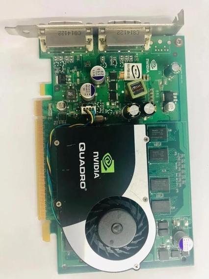 Placa De Vídeo Nvidia Quadro Fx570 256mb 128 Bits Dual Dvi