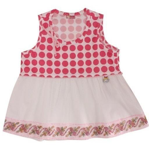 Blusa Feminina Infantil Pink
