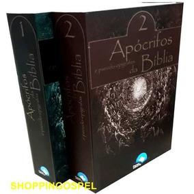 Livro Apócrifos E Pseudo-epígrafos Da Bíblia Box Frete Gráti