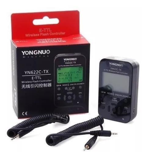 Radio Flash Yongnuo Yn-622c Tx Compatível Com Canon