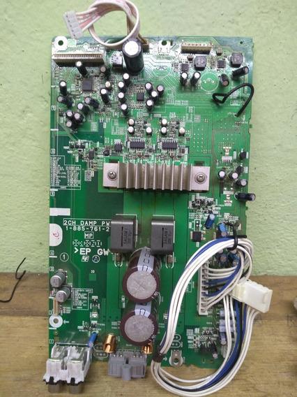 Placa Amplificadora De Áudio Mini System Hcd Gpx3g