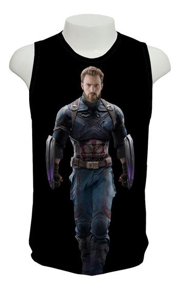 Camisa, Guerra Infinita Capitão América - Regata