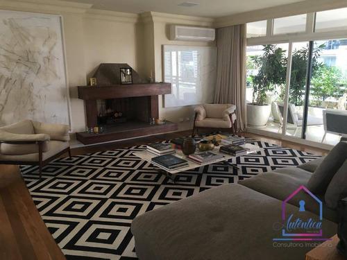 Maravilhoso Apartamento No Itaim Bibi 284m² R$ 30.000,00 - Ap0516