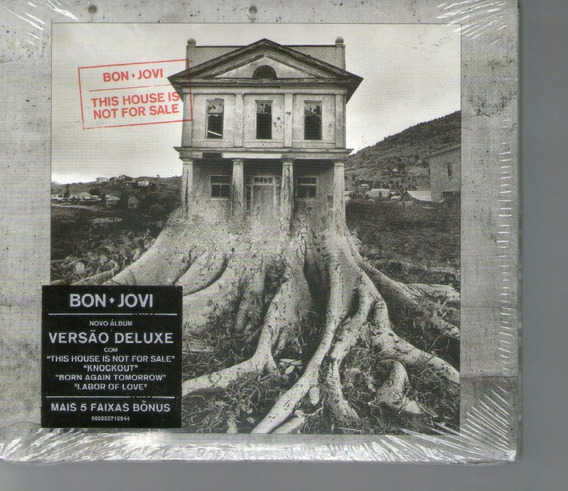 Cd Bon Jovi - This House Is Not For Sale - Novo***
