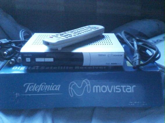Decodificador Movistar Con Control Remoto Y Antena