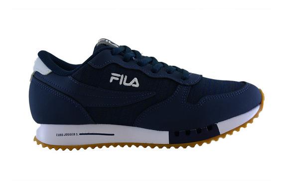 Zapatillas Fila Euro Jogger Hombre Na/wh