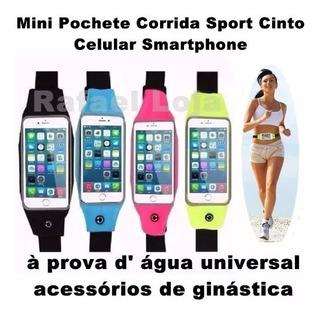 Mini Pochete Bolsa De Cinturón Para Celular Corrida Fitnees