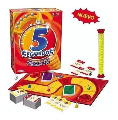 Imagen 1 de 6 de Juego De Mesa 5 Segundos Popular Original Toyco