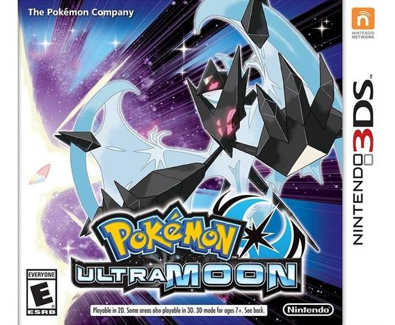 Pokemon Ultra Moon 3ds Mídia Física Lacrado