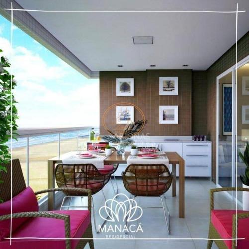 Apartamento  Com 1 Dormitório(s) Localizado(a) No Bairro Aviação Em Praia Grande / Praia Grande  - 6163