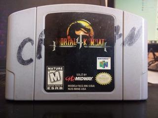 Mortal Kombat 4 Nintendo 64 Funcionando A La Perfección N64