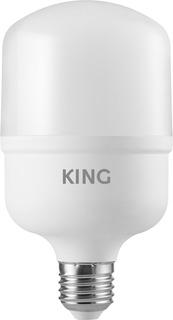 Pack X10 - King Lampara Led Bulbo King - Blanco Frío 20w E27