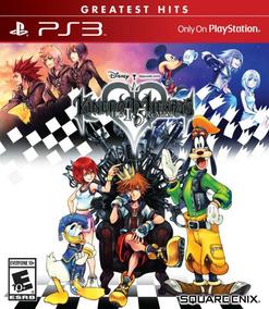 Kingdom Hearts 1.5 Hd Remix Ps3 Greatest Hits Mídia Física