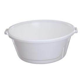 Bacia De Plástico Com Alças 25l Bac25 Astra Branco Dfwt