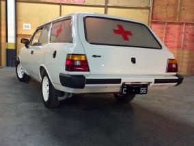 Gm Caravan Ambulância 1989
