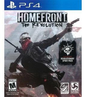 Homefront The Revolution Ps4 Juego Original Fisico Sellado