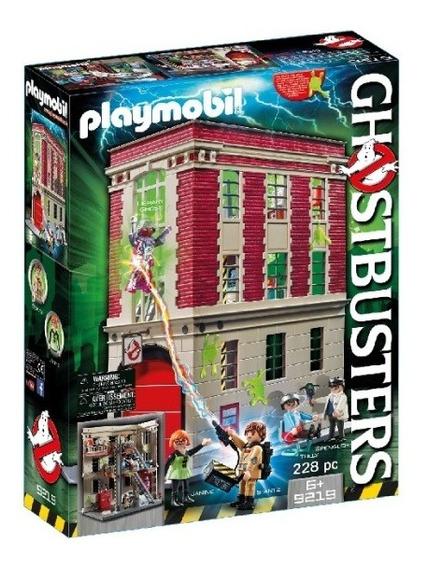Playmobil - Cuartel De Bomberos Ghostbusters