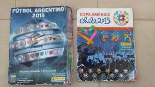 Álbumes De Figuritas Fútbol Argentino Y Copa América Chile