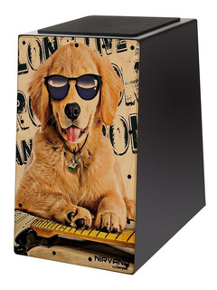 Cajon Acústico Nirvana By Liverpool Can Dog